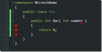 Bar returning 0
